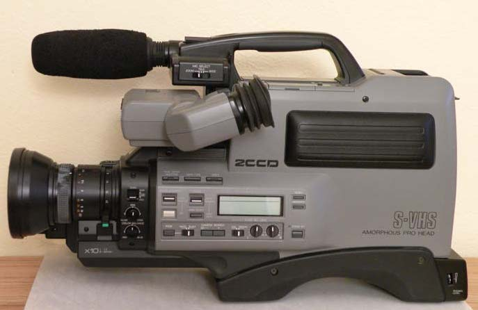 Pansonic SVHS Camcorder