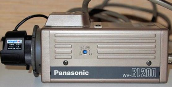 Panasonic BW Surveillance Video Camera