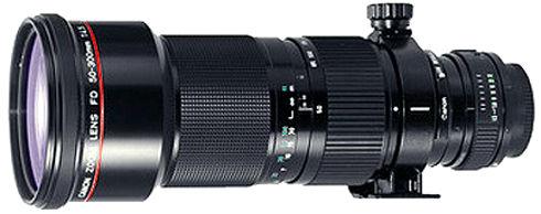 Canon 50-300m Zoom FD Lens