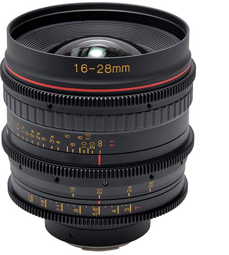 Tokina 16-28mm T3 Cine Lens
