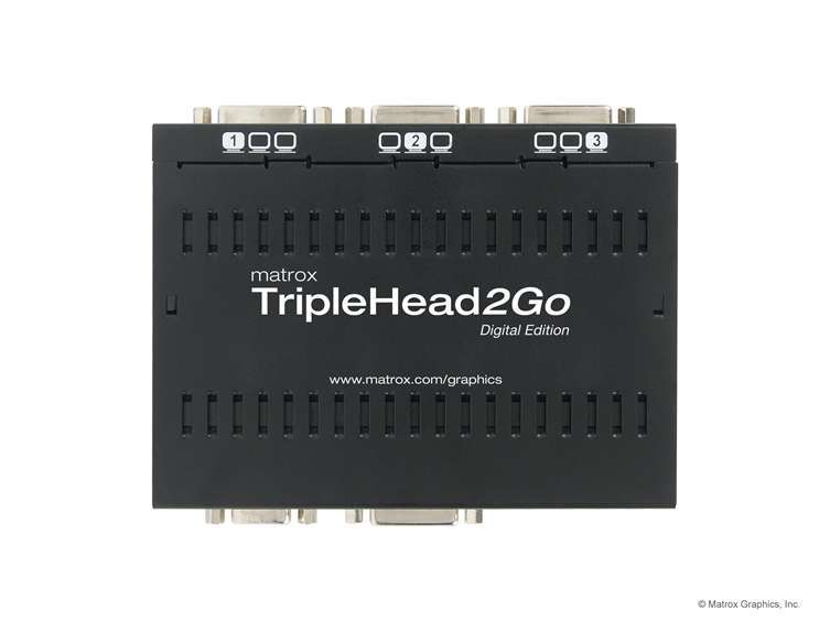 Matrox Triple Head to Go Kit