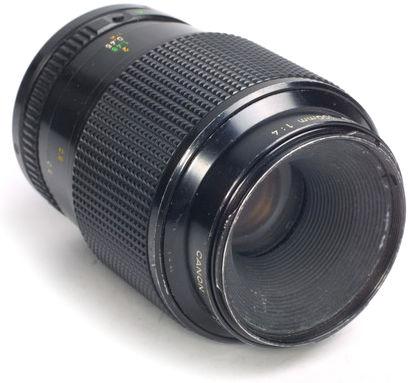 Canon 100mm macro FD lens
