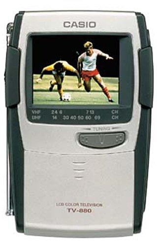 "Casio 2.3"" analog TV"