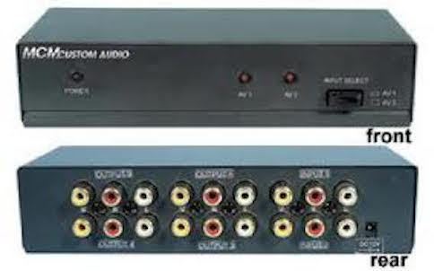 MCM Audio and Video Distribution Amplifier