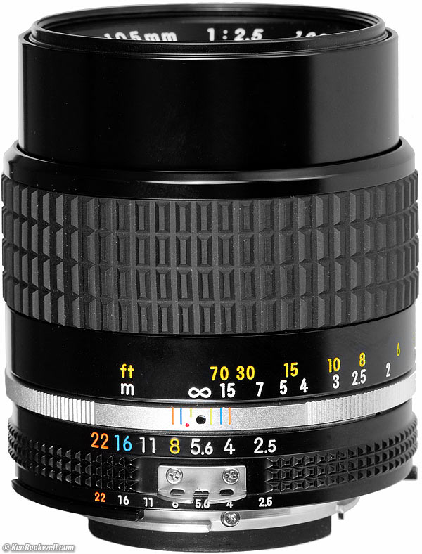 Nikon 105mm 2.8 Lens