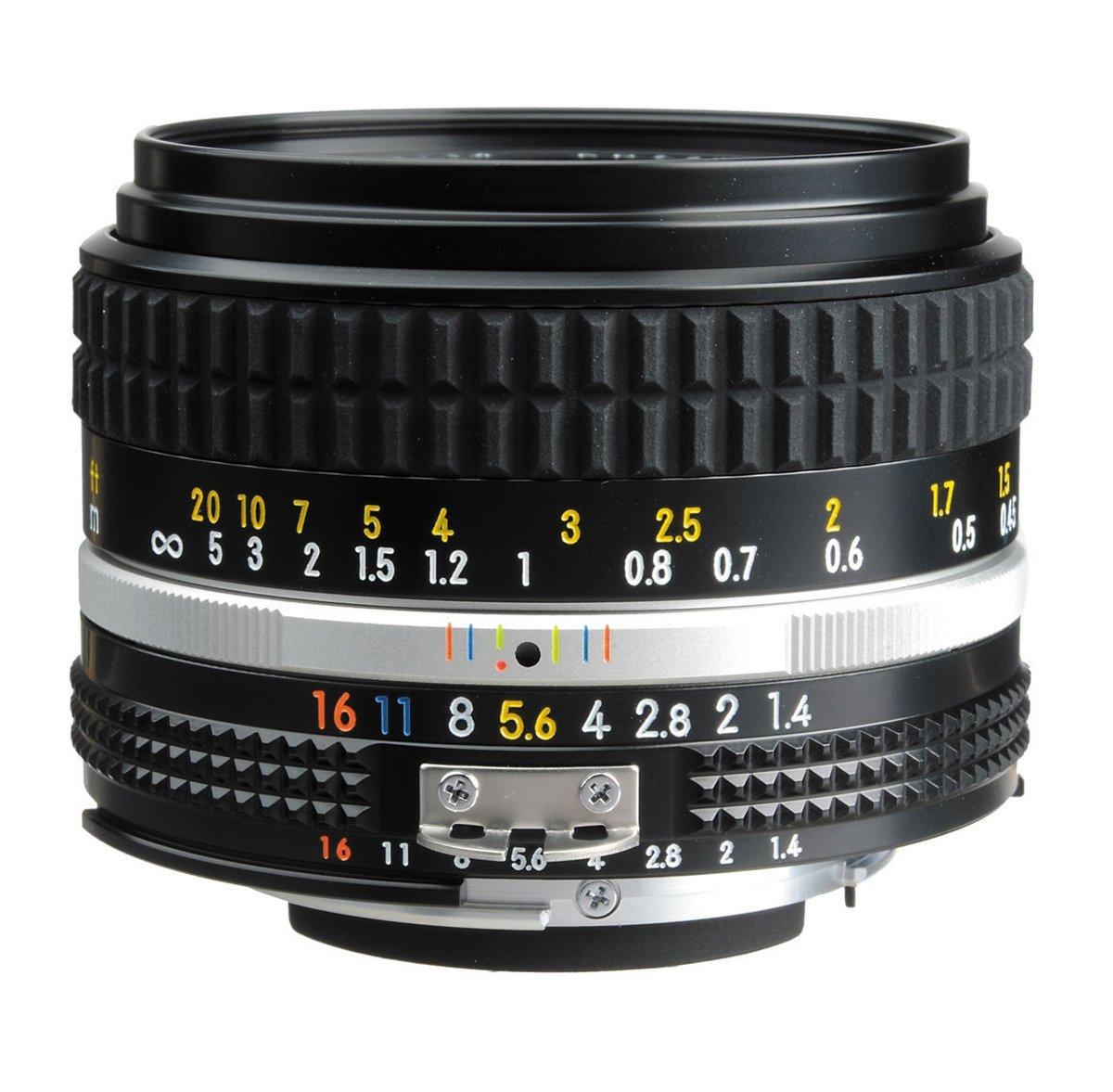 Nikon 50mm 1.4 Lens