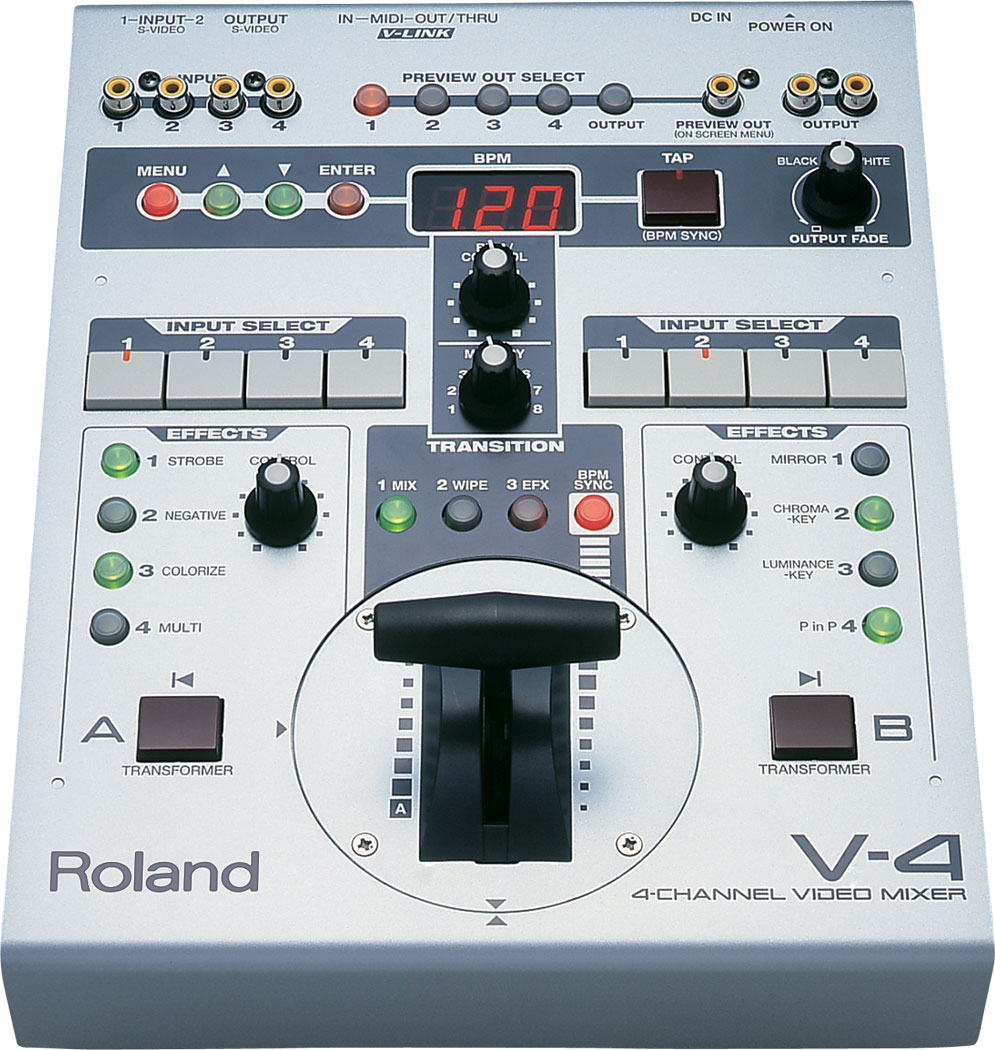 Roland V4 Video Mixer