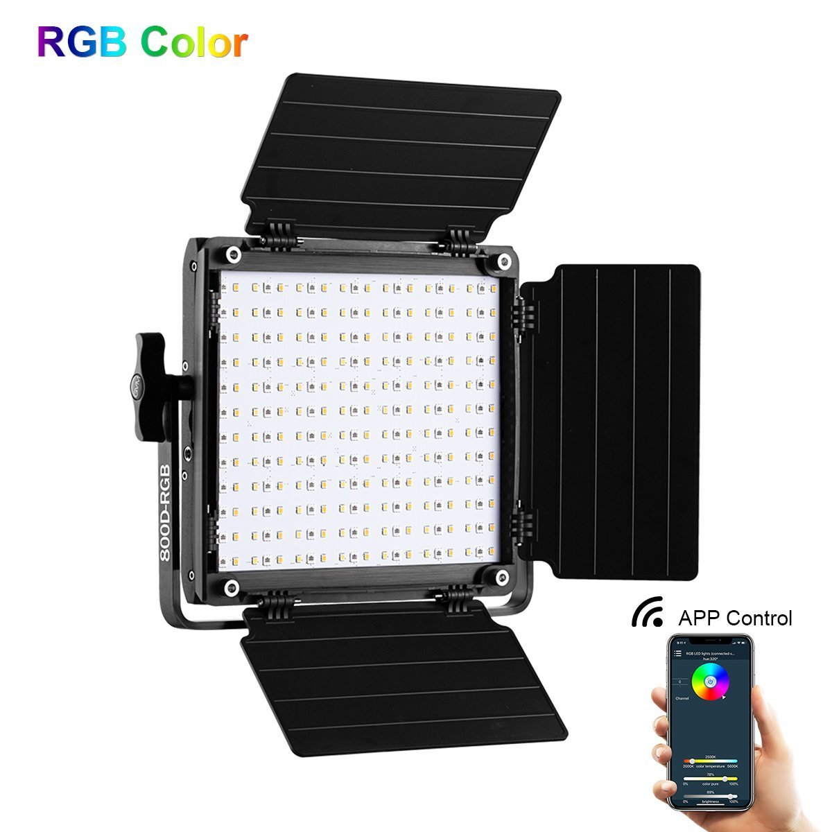 GVM RGB LED Light
